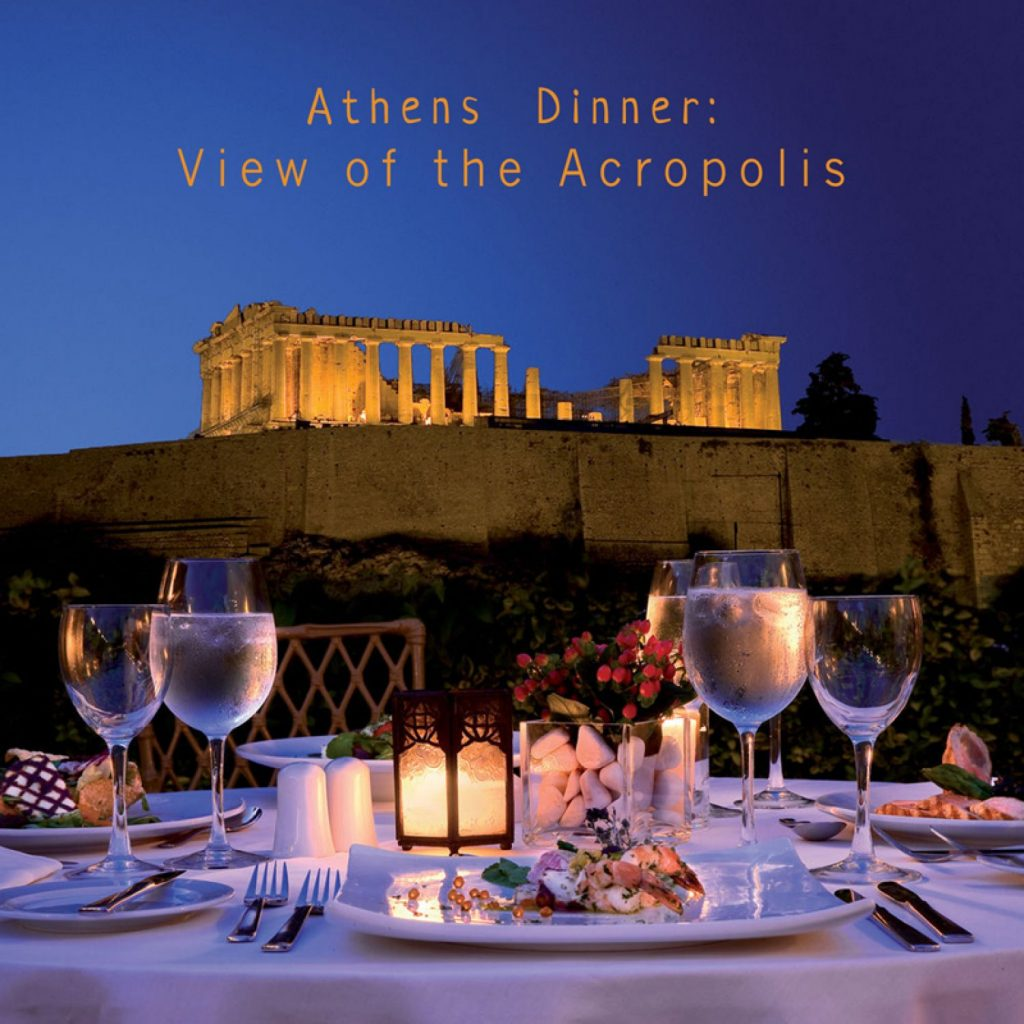 Athens Dinner View of the Acropolis