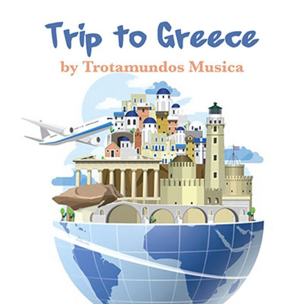 various artists trip to greece