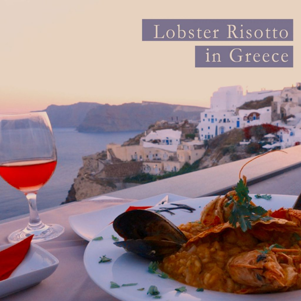 Lobster Risotto In Greece