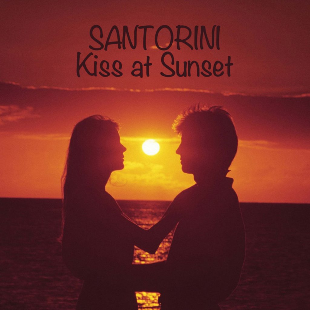 Santorini Kiss at Sunset